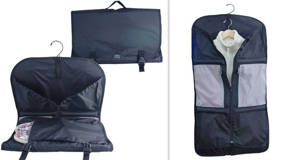 The new Trifold Garment Sleeve from Lite Gear adds some oomph to the usual hanging clothes bag and fits neatly in your carry-on.