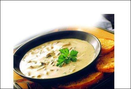 perfect in the autumn-Chanterelle soup