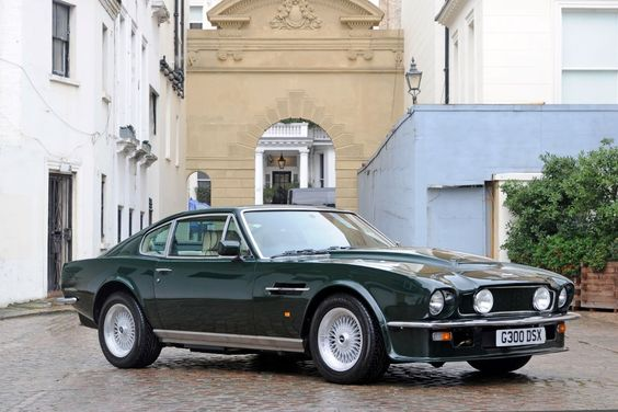 1989 Aston Martin V8 Vantage X-Pack Coupé, Engine V/580/2689/X; Chassis SCFCV81V8KTR12689; fitted with manual transmission, and finished in British racing green with fawn interior and dark green piping, one of just 18 cars painted this colour.
