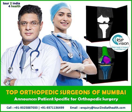 top 12 joint replacement surgeon of Mumbai