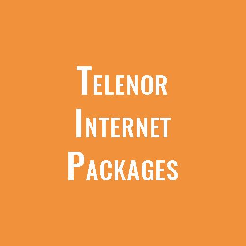 Telenor 4g Internet Packages Daily Weekly Monthly 2020 In 2020 Internet Packages 4g Internet Internet