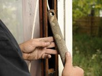 How to replace broken window sash cord!
