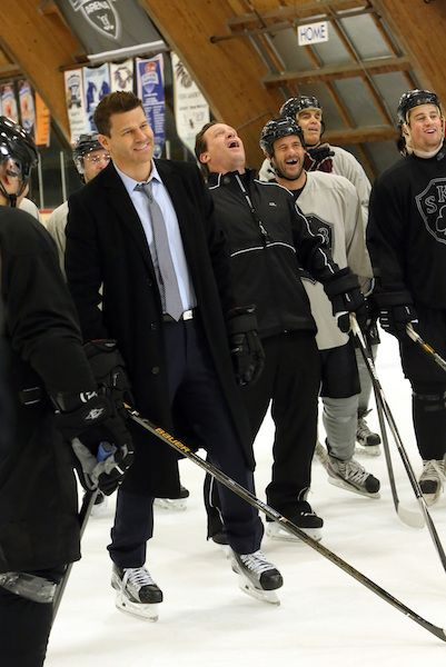 BuddyTV Slideshow | 'Bones' Episode 11.19 Photos: Booth Faces Off Against a Hockey Rival from His Past