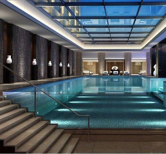 10 Majestic Luxury Swimming Pool Designs Indoor Swimming Pool