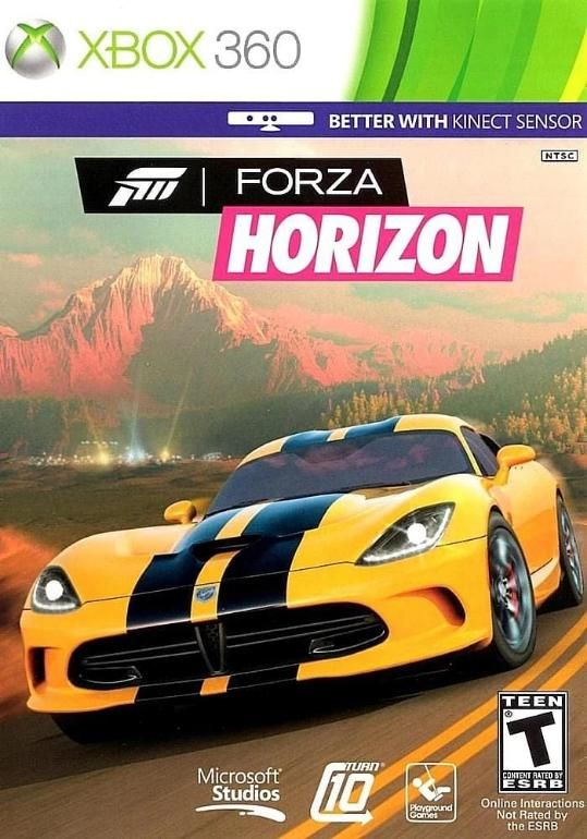 Forza Horizon Xbox 360 Xbox Xbox 360 Games