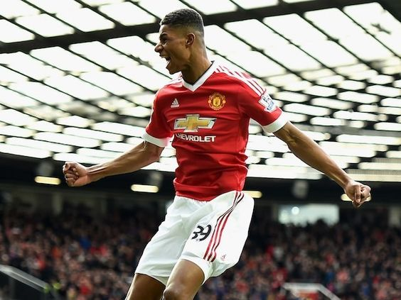 This pin is a picture of the great, talented, 18 year old, Marcus Rashford, who plays for my favorite soccer team ever, Manchester United.
