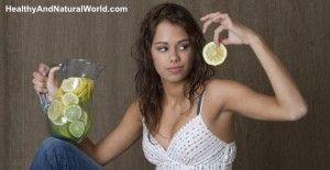 Lemon water benefits 12806