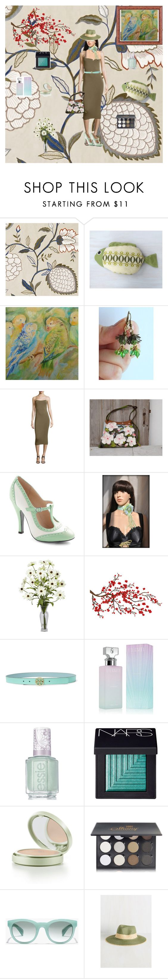 """""""today's outfit"""" by black-passion ❤ liked on Polyvore featuring T By Alexander Wang, Tory Burch, Calvin Klein, Essie, NARS Cosmetics, Shany and J.Crew"""