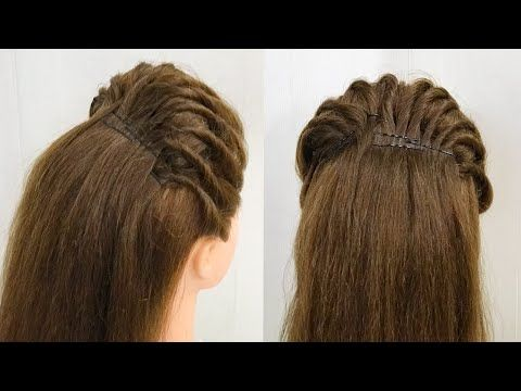 Beautiful Puff Hairstyle With Twist Layers Easy Hairstyles Youtube Hair Puff Easy Hairstyles Hair Styles