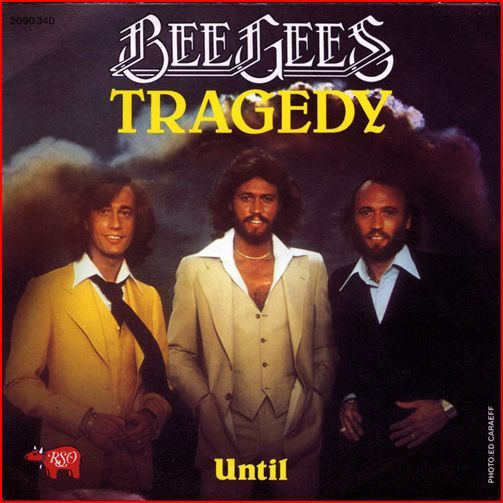 Bee Gees – Tragedy (single cover art)