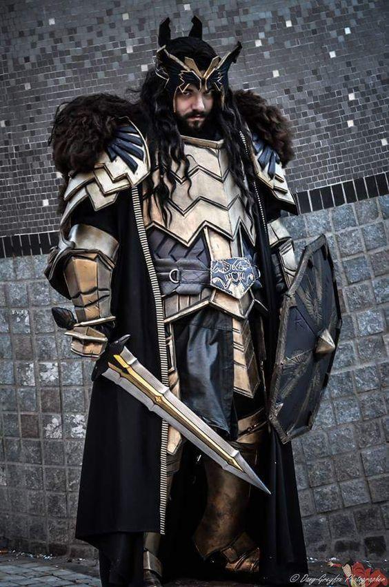 Thorin, son of Thrain, son of Thror. by AlexOakenshield on DeviantArt