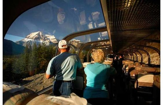 Trainride in Canada: Rocky Mountaineer routes