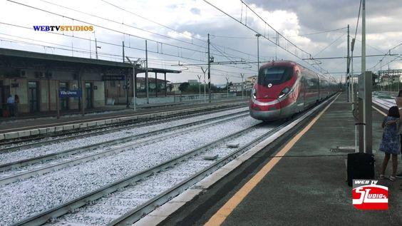Stazione di Villa Literno Freccia Rossa Trenitalia