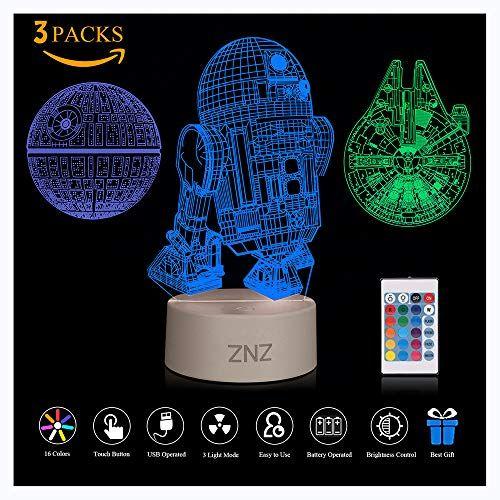 3d Led Star Wars Night Light Star Wars Night Light Star Wars Mugs Marvel Lights