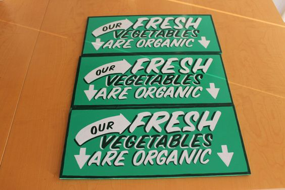 Fresh Organic by James-Roy Thomas, via Behance