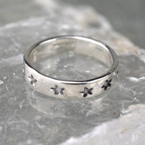 Swap Stamped Star Ring Handmade By Alison Moore Designs Mens Gold Jewelry Silver Rings Handmade Jewelry