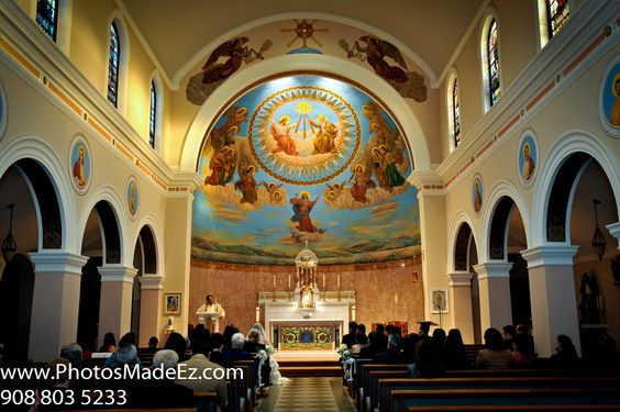 Wedding Ceremony Photo in Church, Jersey City - Wedding Photos by PhotosMadeEz