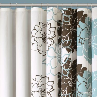 Farrah Floral Shower Curtain found at @JCPenney | Stuff to Try ...