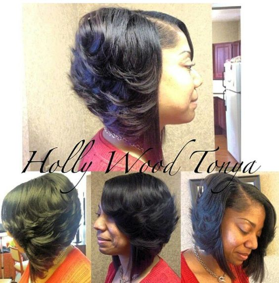 Wondrous Feathered Bob Bobs And The Top On Pinterest Short Hairstyles Gunalazisus