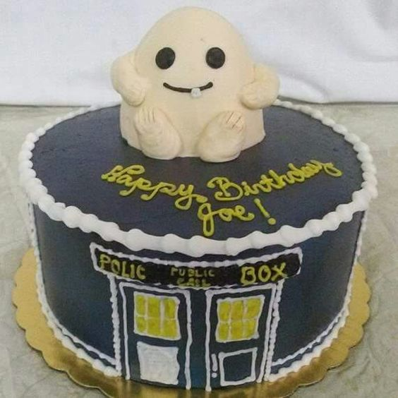 Doctor who themed cake Adult Birthday Cakes Pinterest Doctors