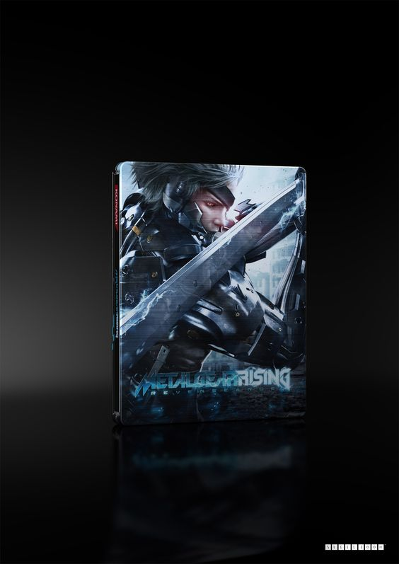 This Metal Gear Rising Steelbook will be available from independent retailers - check with your local store for details.