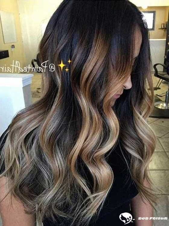 10 Stunning Blonde Highlights For Dark Hair For 2019 2020 With
