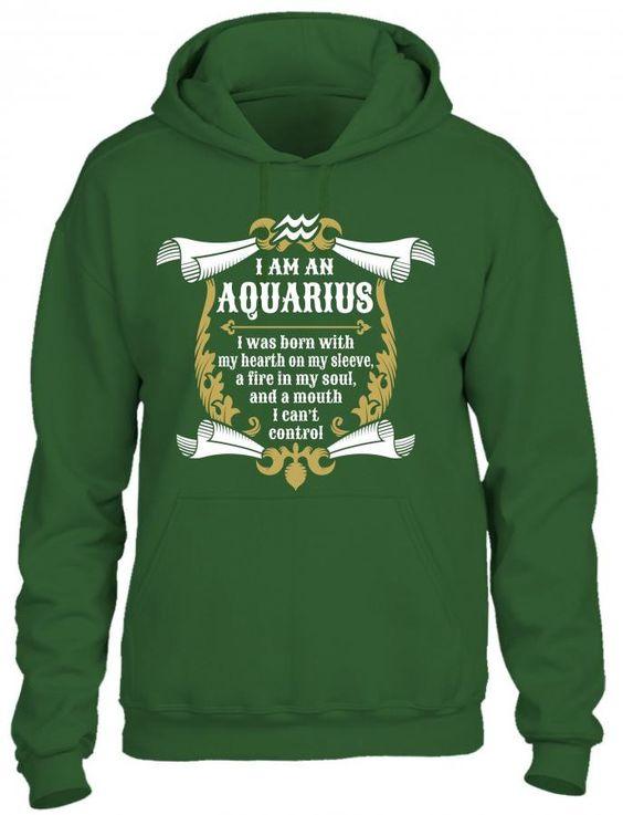 I Am An Aquarius HOODIE