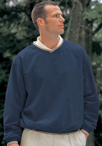 Big Mens Long Sleeve Microfiber Lightweight Windshirt