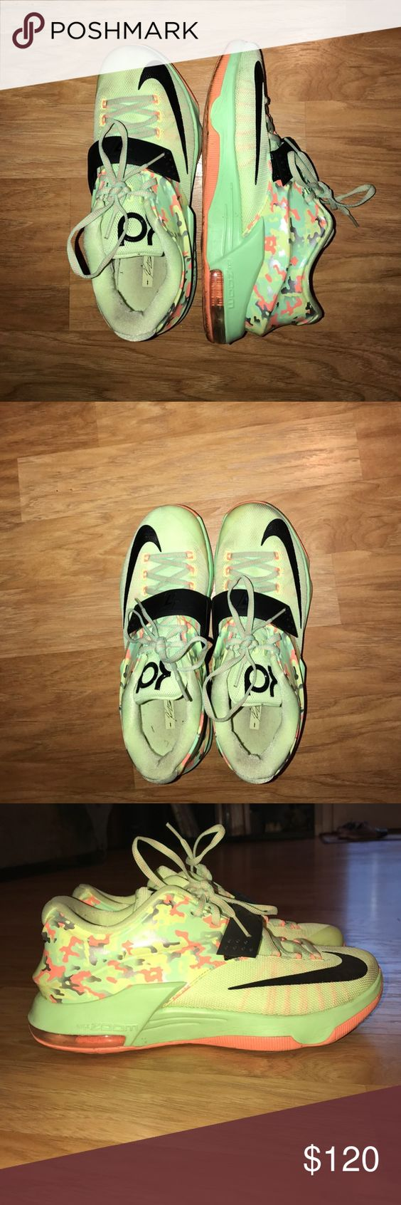 Nike zooms Basketball low tops, lightly worn, one stain at tip of the shoe but can be cleaned. Nike Shoes Athletic Shoes