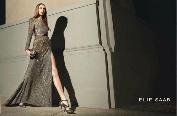 Karlie Kloss for Elie Saab autumn/winter 2012
