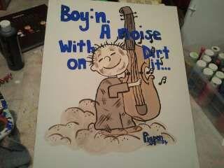 MORE OF SAMSONS Snoopy NURSERY MOMMY MADE ART!!