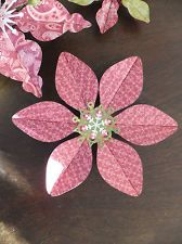 Hand Made Paper Craft Snow Flake Ornaments holiday Christmas Winter Decoration