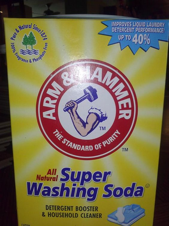 a box of washing soda is needed