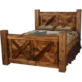 Beds Headboard And Footboard And Western Style On Pinterest