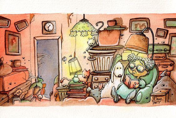 desvandelecturas:    Ilustración de Marty Crouz