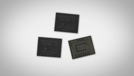 Samsung BGA NVMe SSD
