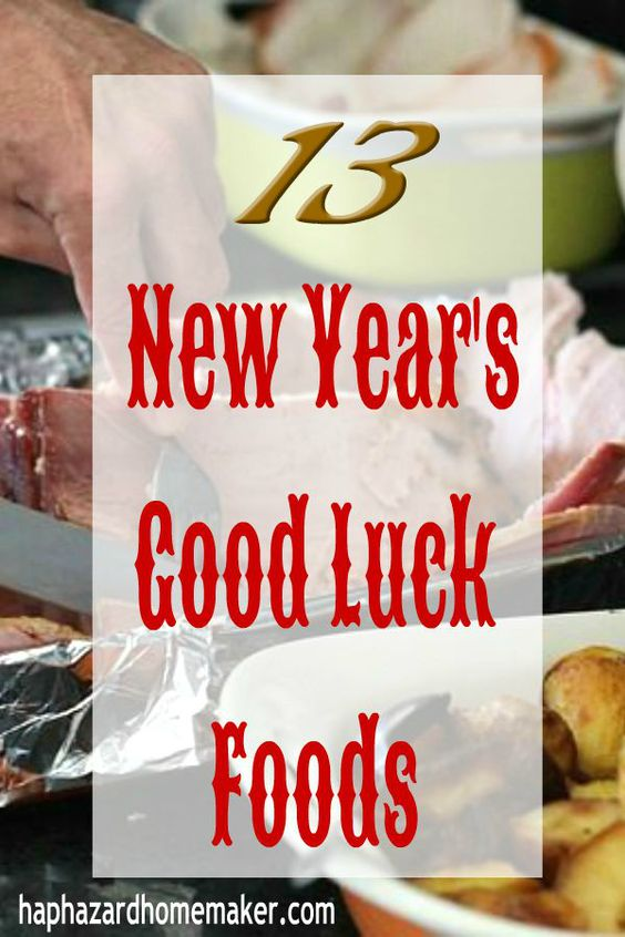 13 Lucky Foods for the New Year