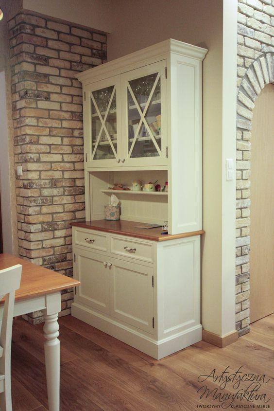 prowansalski kredens idealny do jadalni, classic furniture - wykonanie Artystyczna Manufaktura