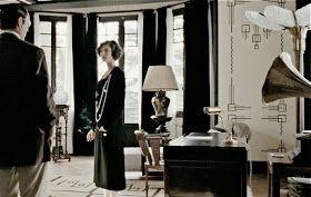 * T h e * V i s u a l * V a m p *: Black and White Chanel Interiors