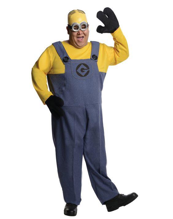Despicable Me 2 Minion Dave Costume Adult Plus
