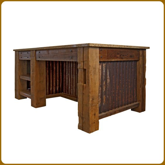 Craftsman Corrugated Metal And Barn Wood On Pinterest