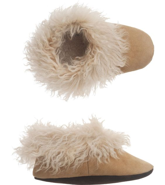 Home Alpaca & Shearling Slippers in Home
