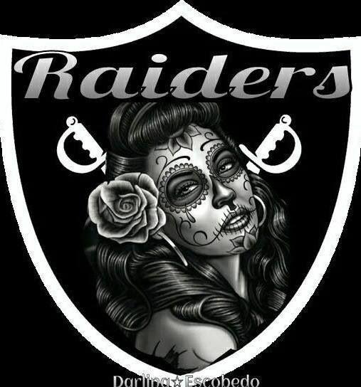 Raider Nation Raiderette RAIDERS ALL DAY EVERY DAY