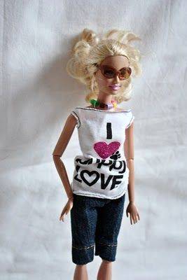 Great barbie clothing ideas