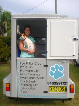 Dog Grooming Trailer For Sale Nsw