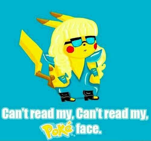 Cant read my poké face