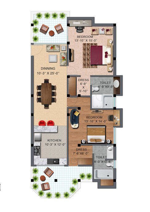 Floor Plans Modern House Designs House Design Ideas With Floor Plans Modern House Floor Plans Single Floor House Design Home Design Floor Plans
