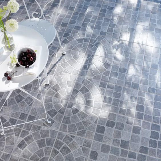 Kitsch on pinterest for Carrelage pour terrasse exterieur
