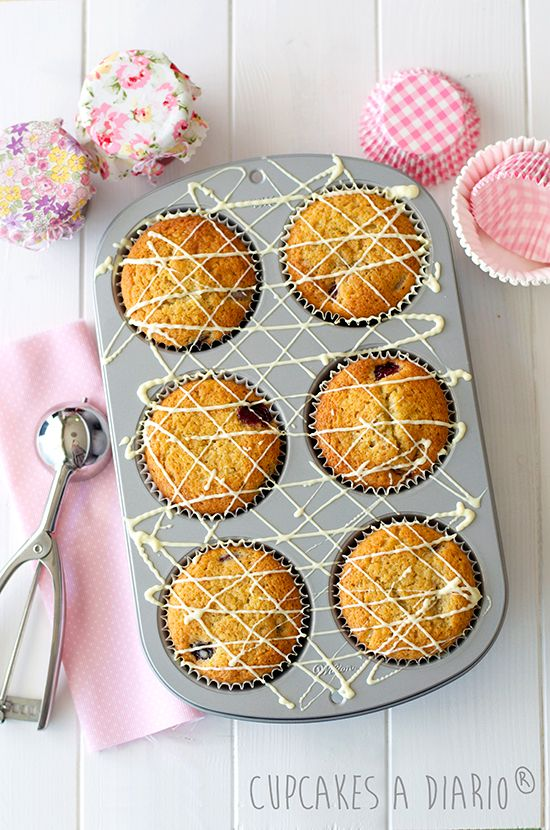 Cupcakes a diario: Muffins gigantes de cereza y cómo los antojos se convierten en costumbre