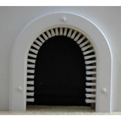 Cats home and pet door on pinterest - Cat door for hollow core door ...